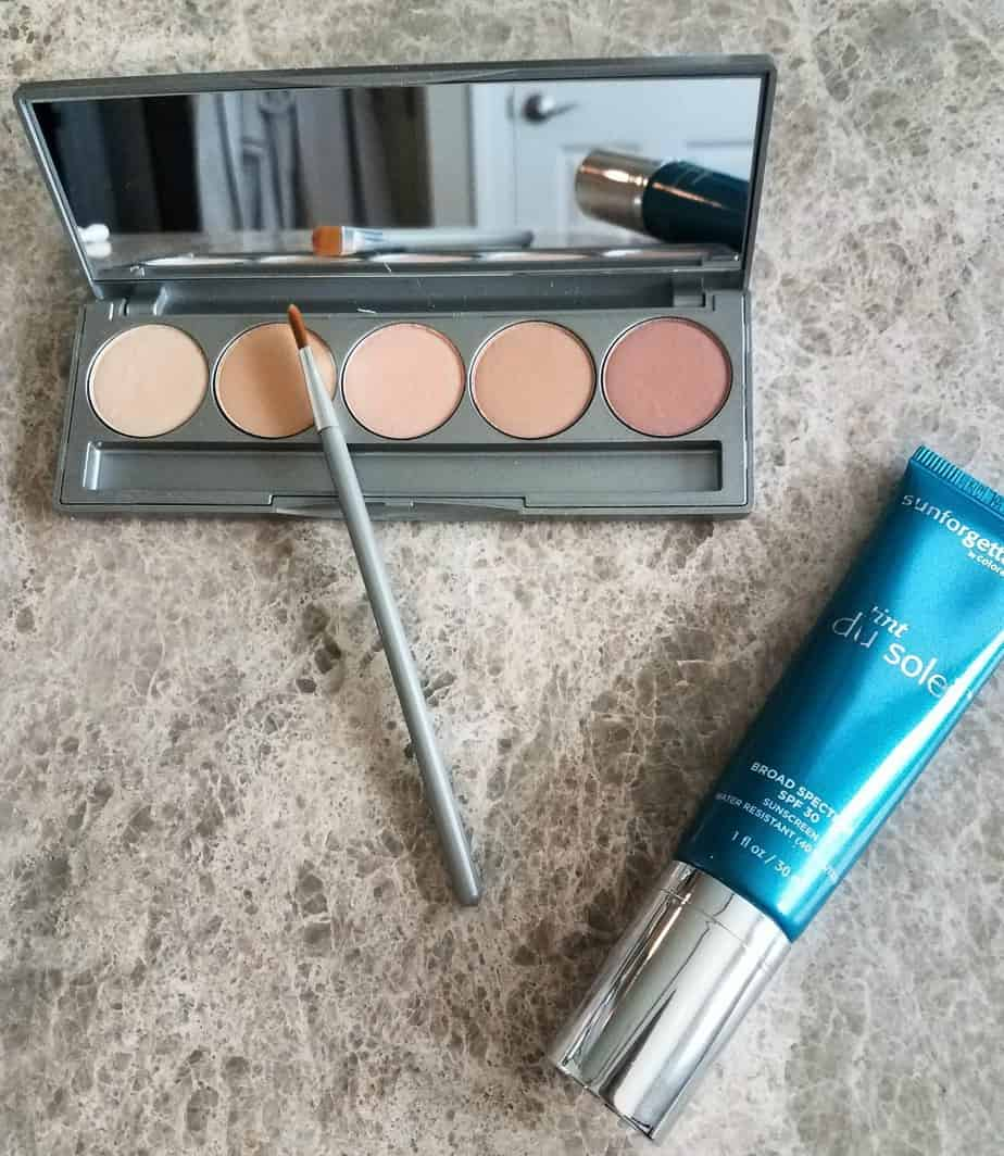 March Product Haul colorescience correcting