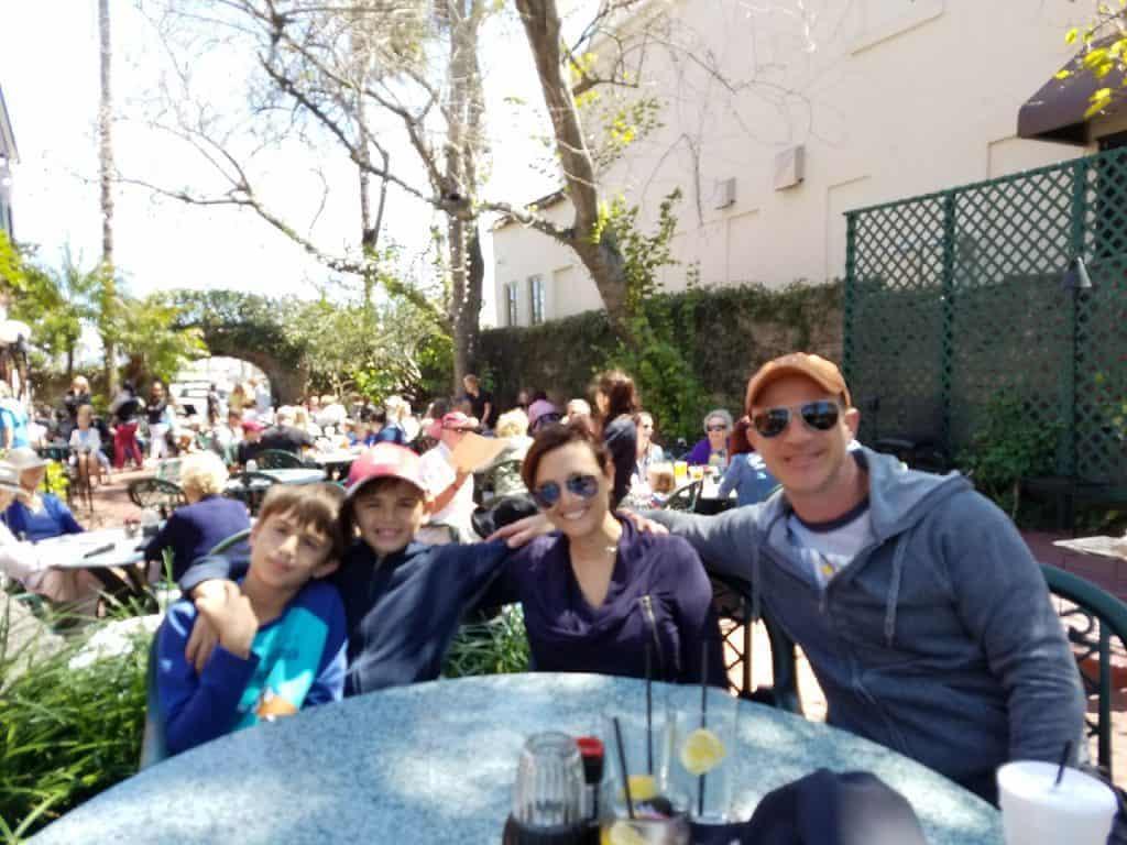St. Augustine Restaurants - Harry's Outside