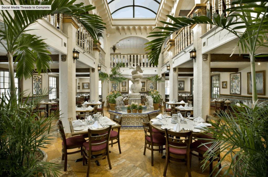 St. Augustine Restaurants - Columbia Restaurant Decor