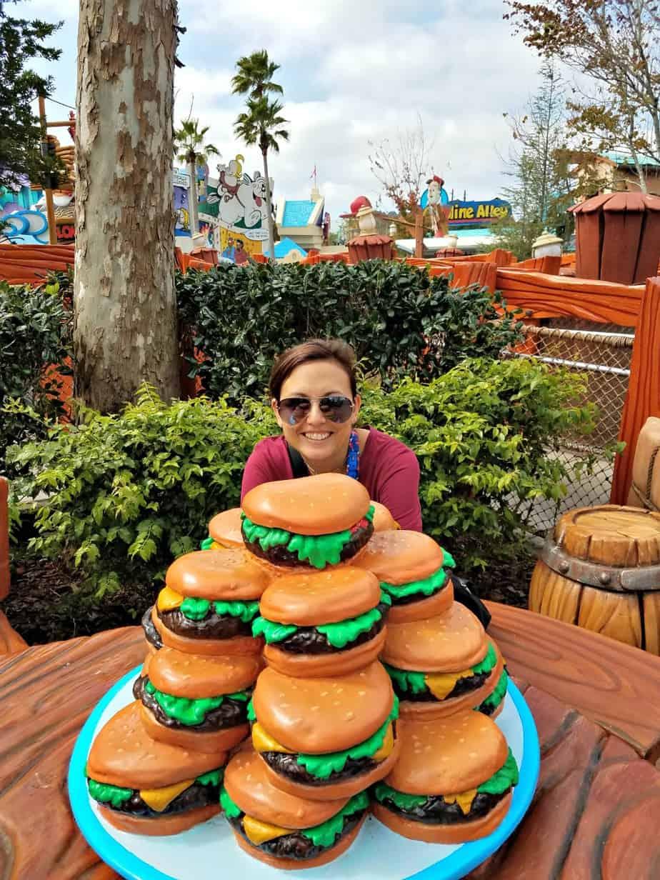 Universal Orlando Hamburger and Dana