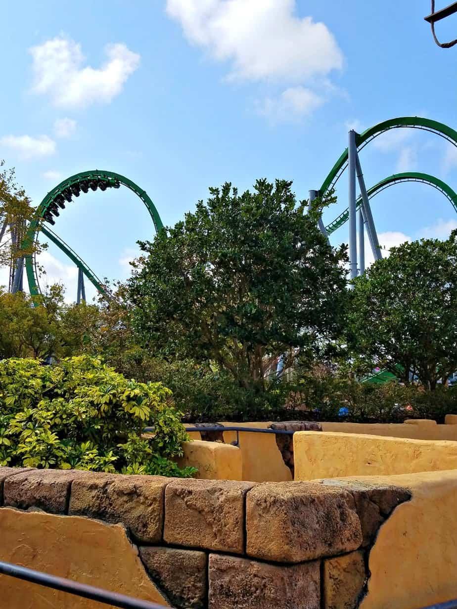 Universal Studios Hulk