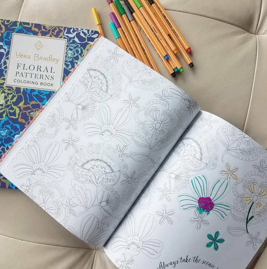 April Product Review Roundup Vera Bradley Coloring Books