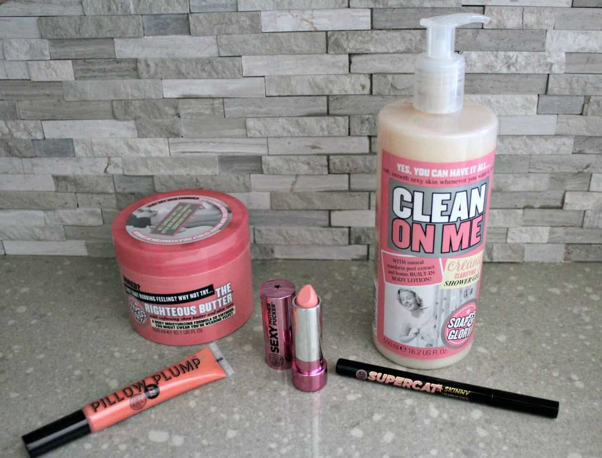 Soap and Glory Products - May Product Review Roundup