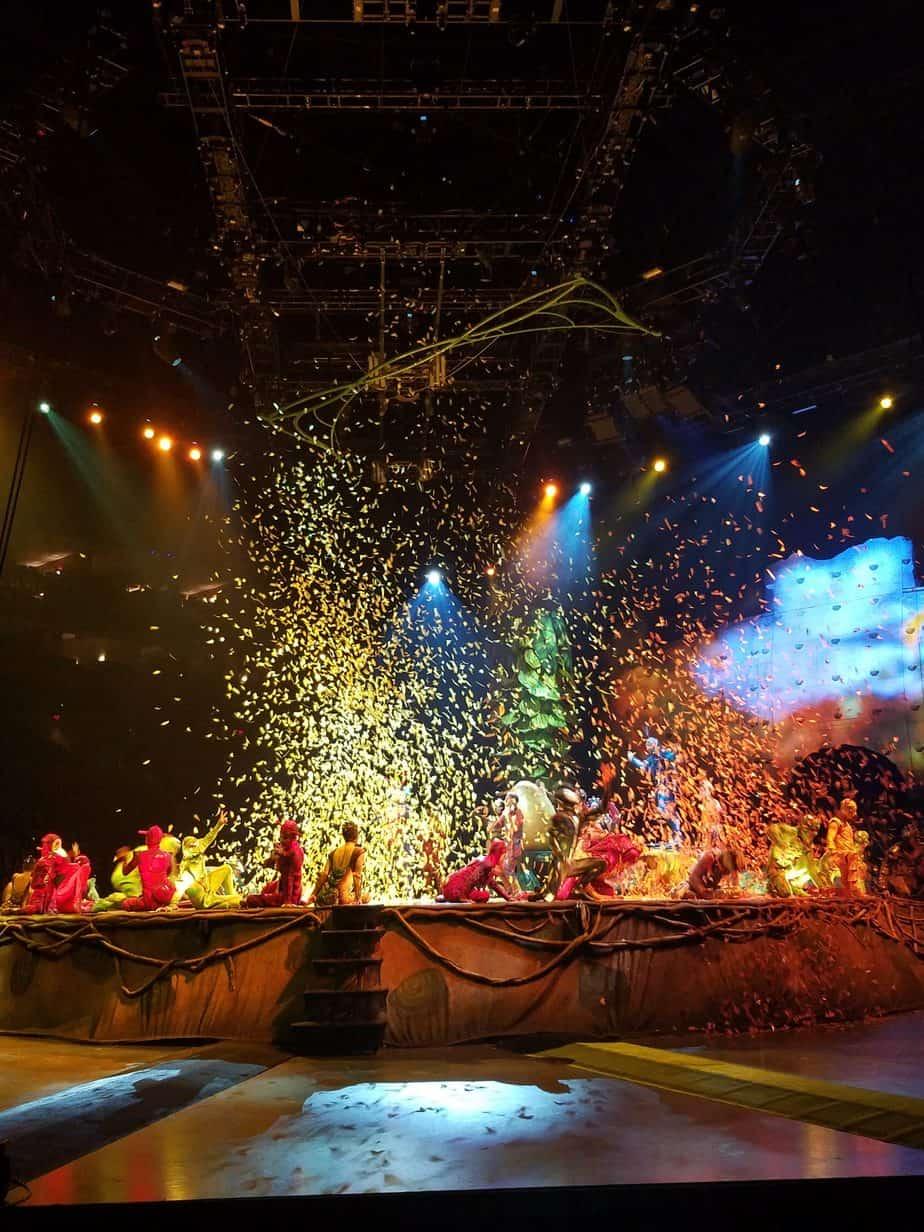 Behind the Scenes at Cirque du Soleil OVO
