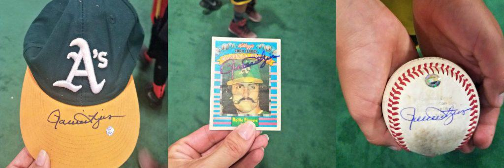 All Star FanFest Rollie Fingers Autographs