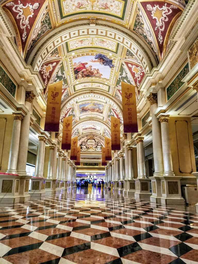 Venetian Lobby Las Vegas