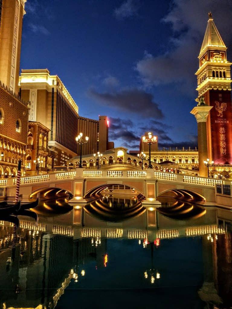Venetian Canal Las Vegas