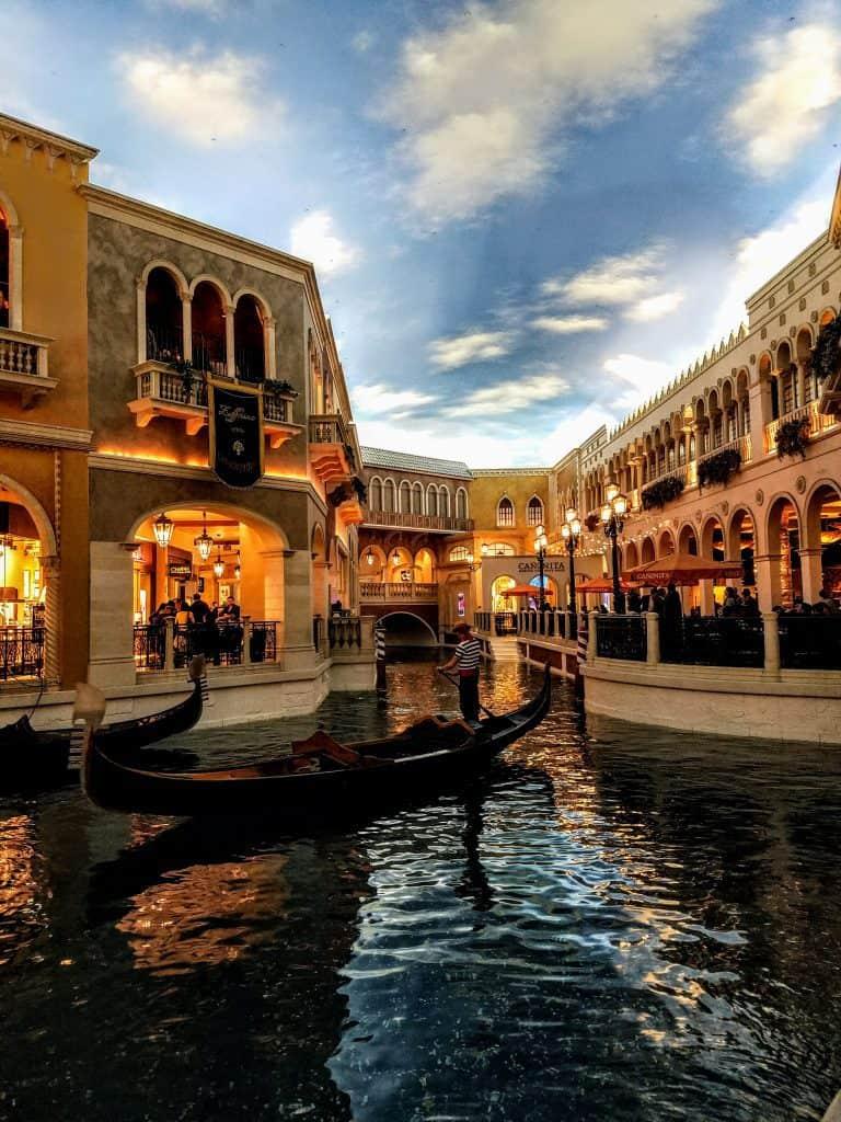 Venetian Interior Las Vegas