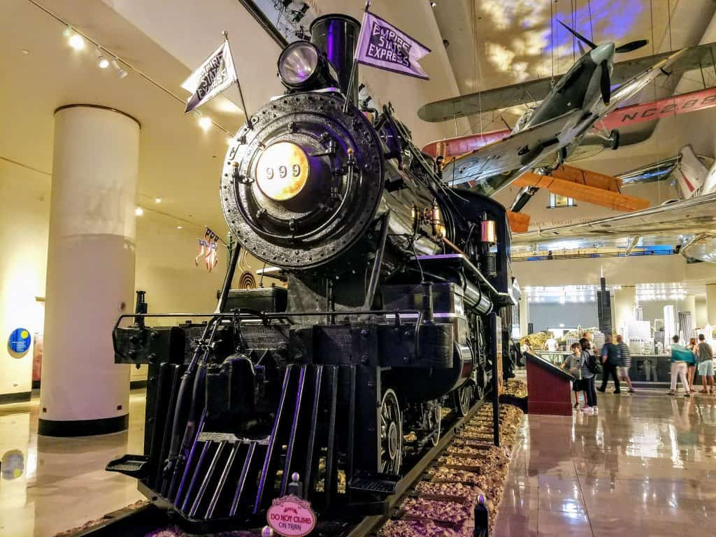 Museum of Science and Industry Transportation Gallery 999 Steam locomotive