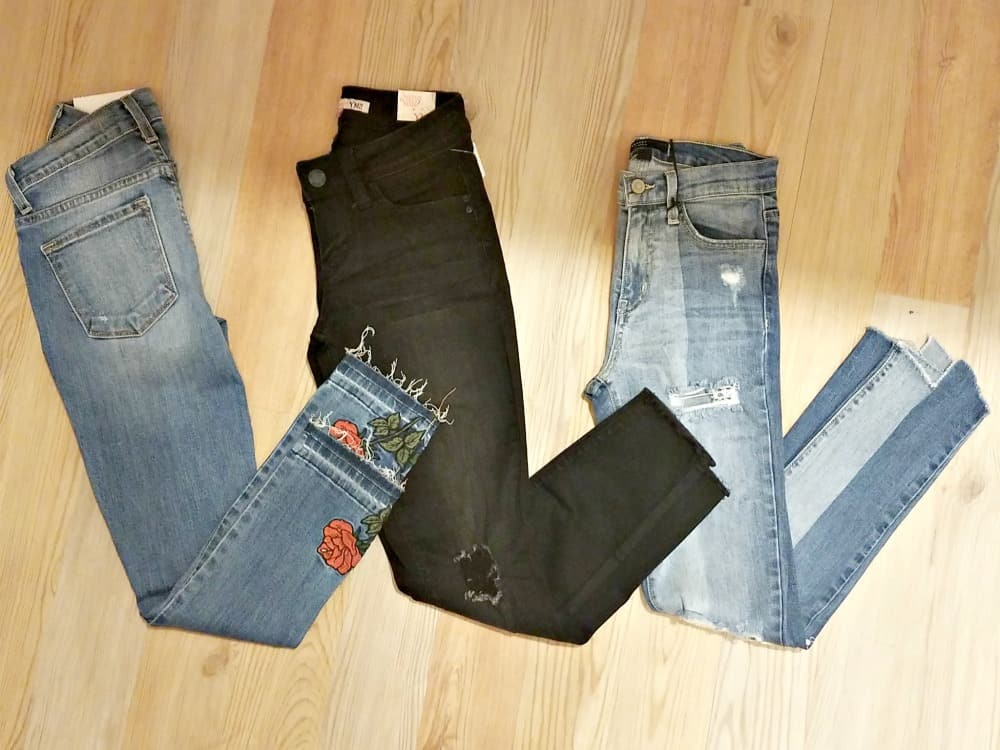 Distressed denim Fall Fashion