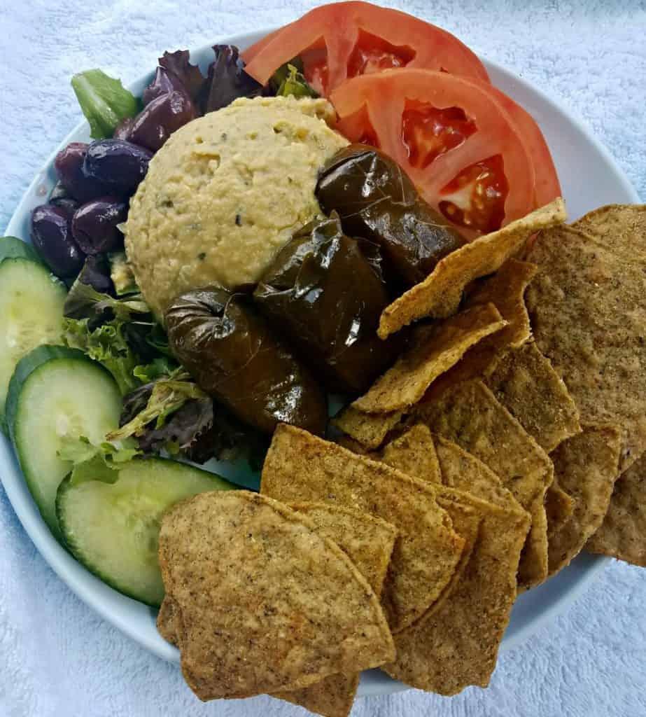 PGA National Resort and Spa Hummus Platter Lunch Poolside