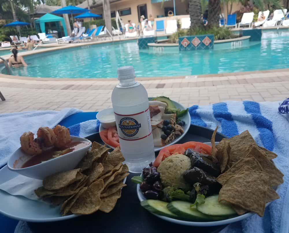 PGA National Resort and Spa Lunch Poolside