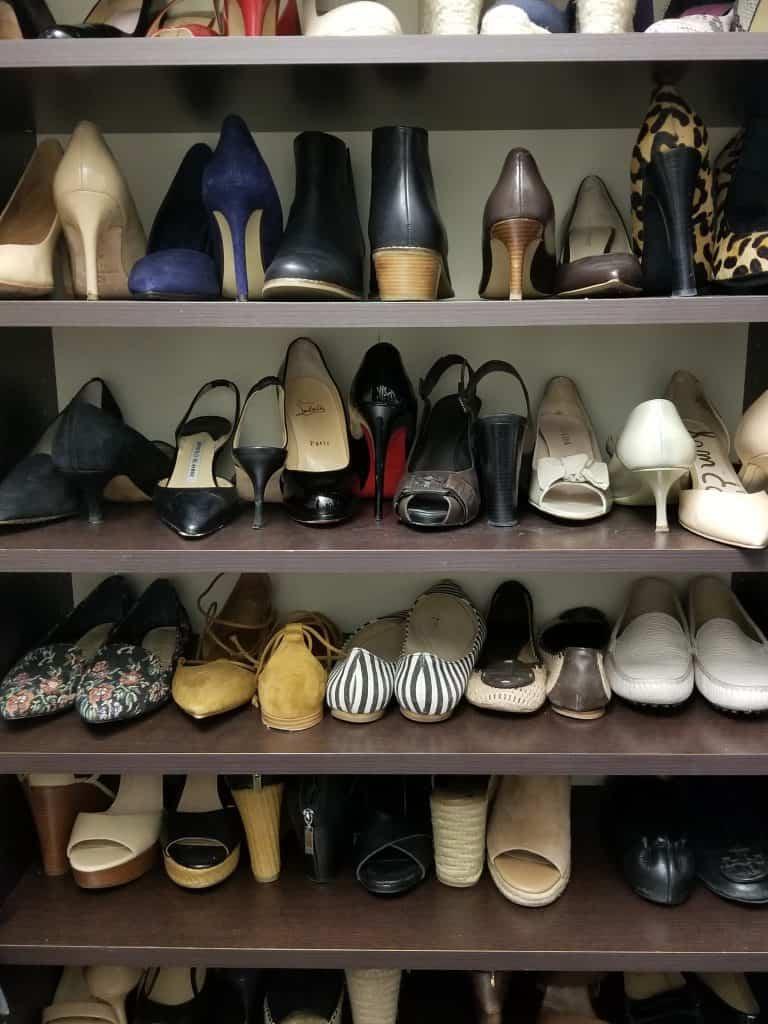 organize your closet shoe organization