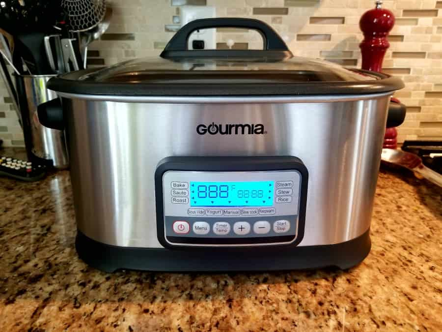 Gourmia Multi Cooker and Sous Vide