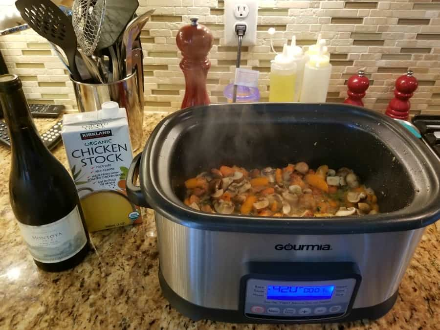 gourmia multi cooker and sous vide 2
