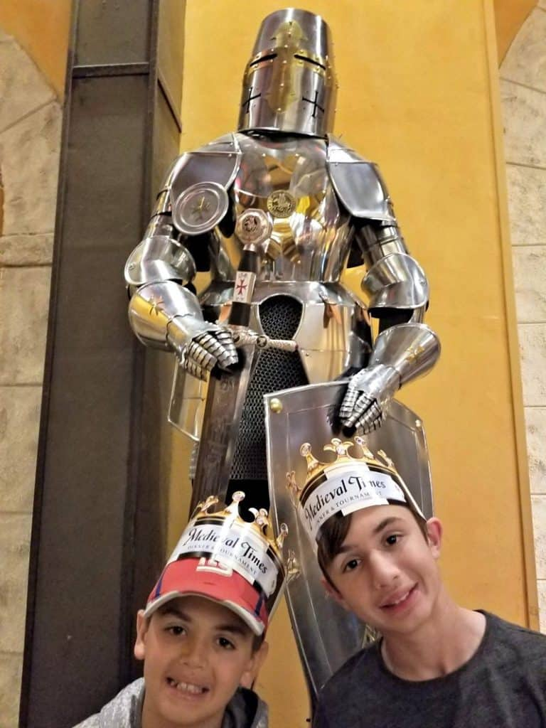 Medieval Times Orlando My Two Knights