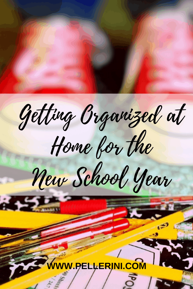 Getting Organized at Home for the New School Year