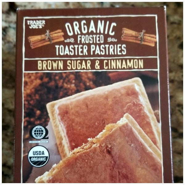 Trader Joe's Organic Frosted Toaster Pastries