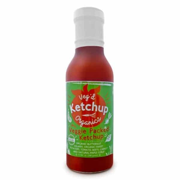 Veg'd Organics Ketchup Bottle