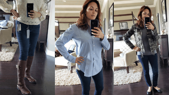 October's Nordstrom Trunk Club Unboxing