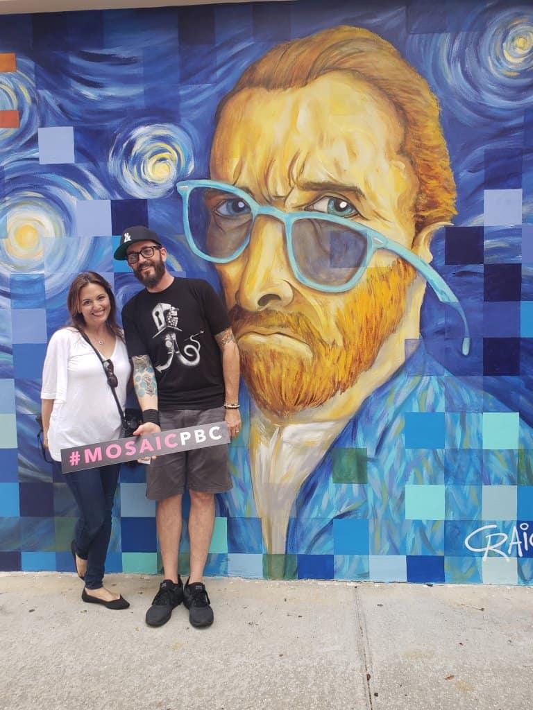 Street art at MOSAIC