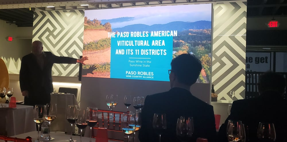 Paso Robles AVA Focused Tasting Seminar