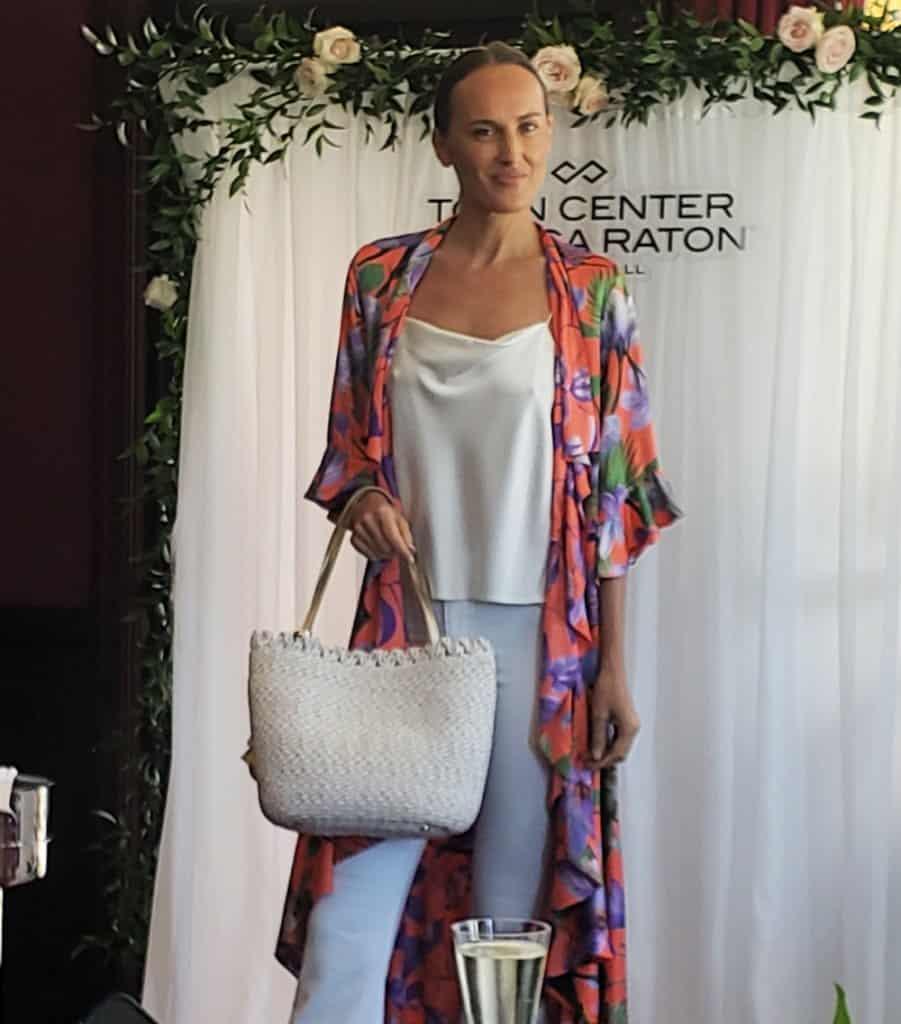 fashion show model saks fifth avenue spring fashion
