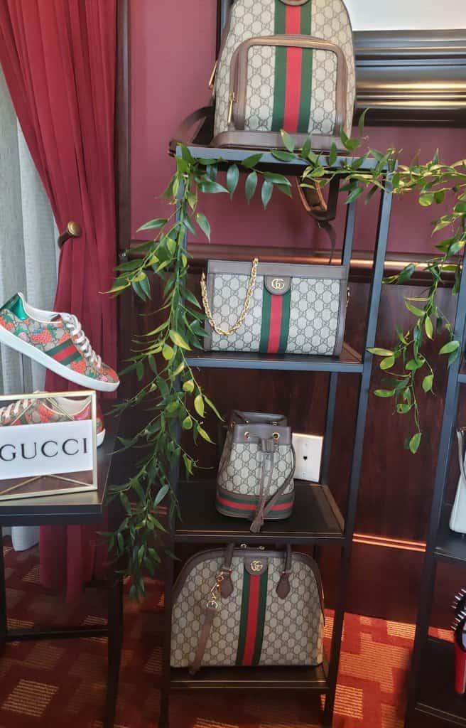 Town Center at Boca Raton Gucci Display