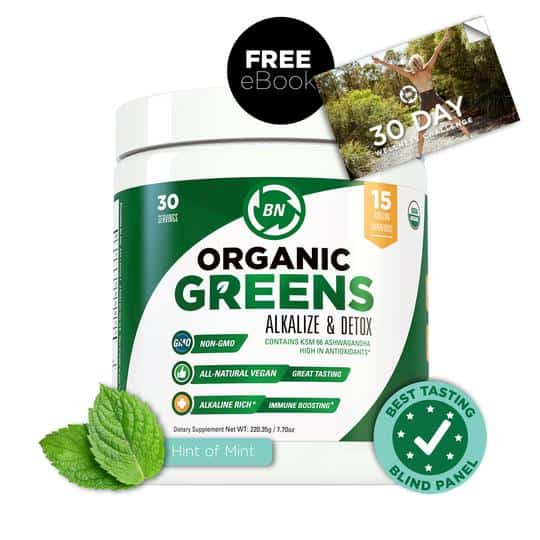 BN Labs Organic Greens drink