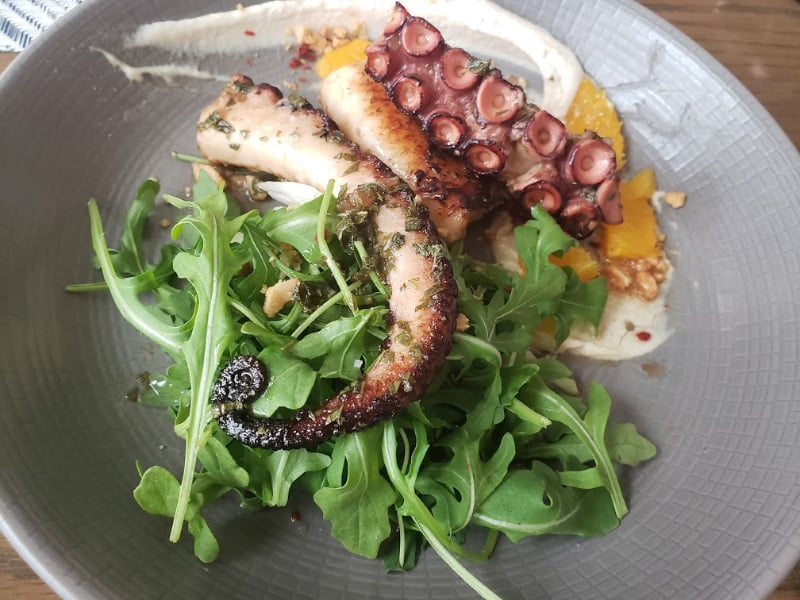 Boulud Sud Brunch Octopus