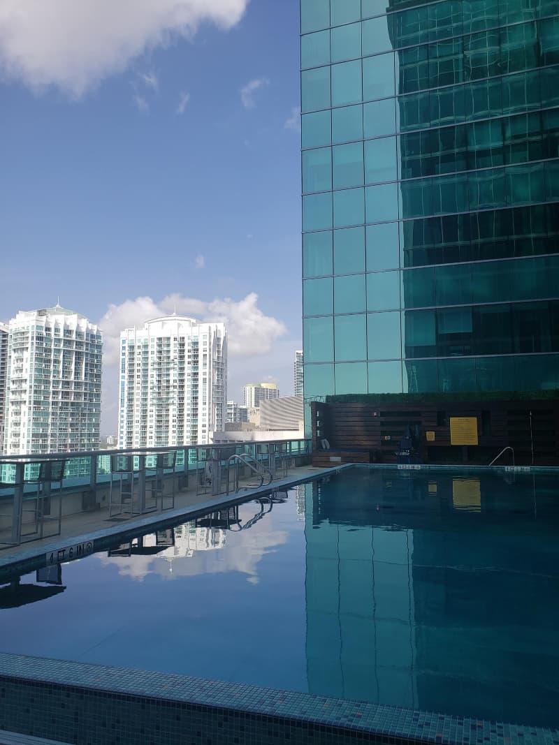 JW Marriott Marquis Rooftop Pool