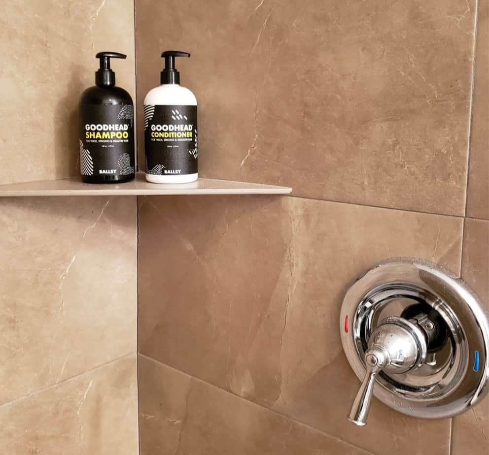 GoodHead shampoo and conditioner by Ballsy