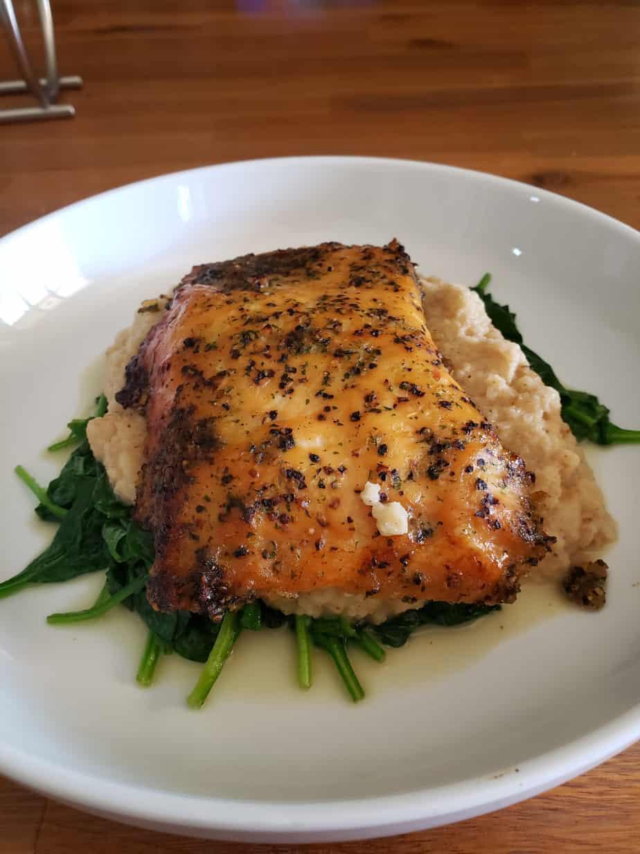 Vital Choice Wild Seafood and Organics salmon lunch