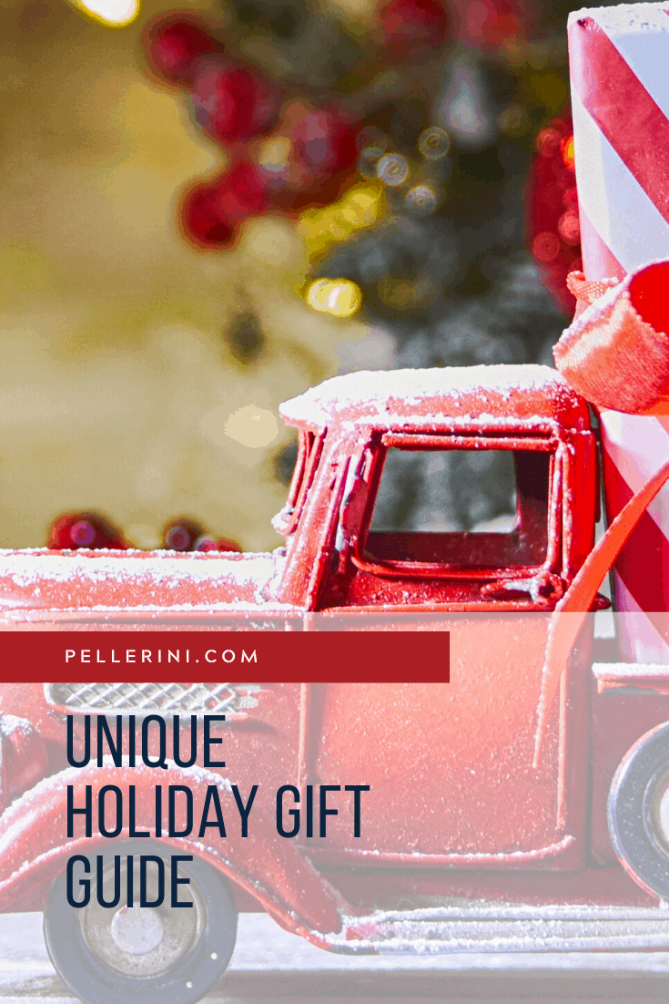UNIQUE HOLIDAY GIFTS GUIDE