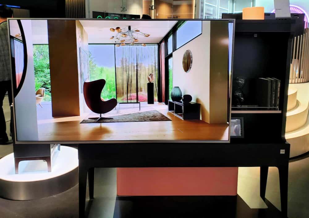 LG television furniture hybrid