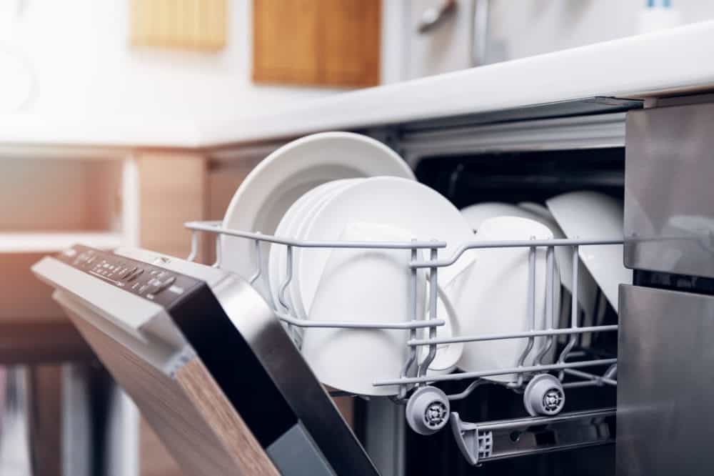 how to adult empty the dishwasher