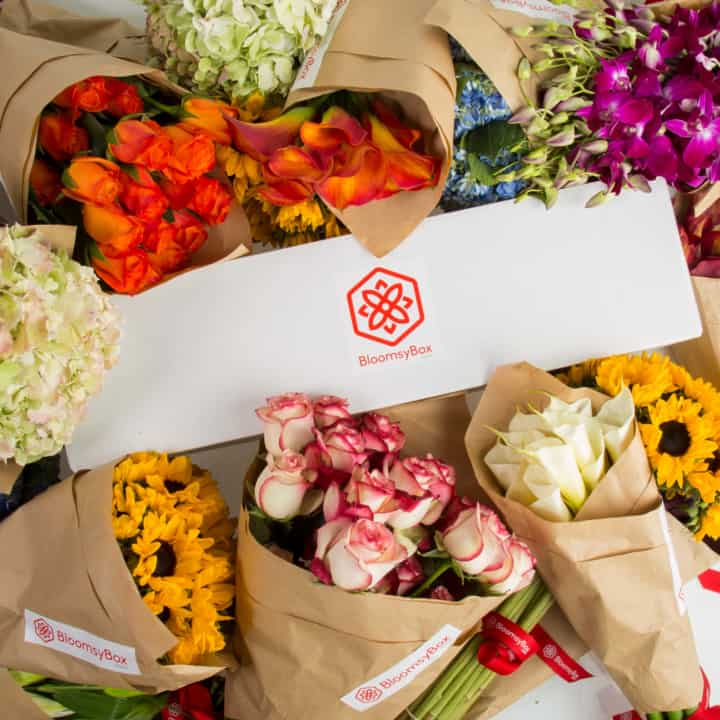 Bloomsy Box flower subscription box