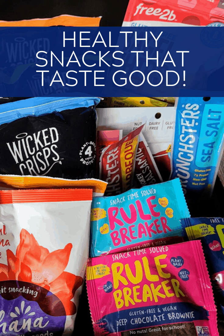 I personally taste-tested over 30 different snacks to compile the list below of my favorite healthy snacks that taste good too!