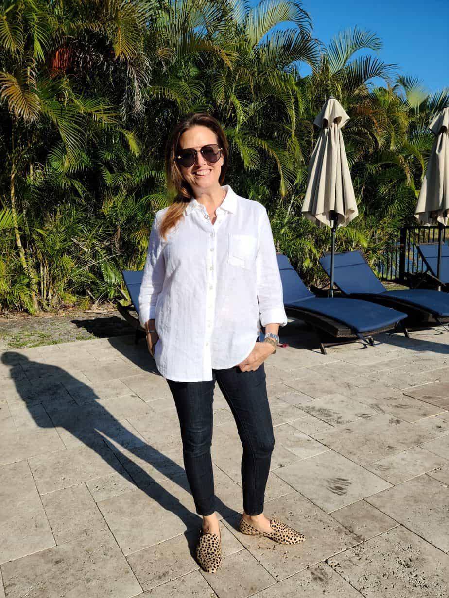 Fashion Find: The Classic White Button Down