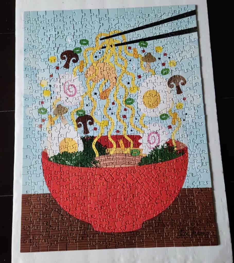 Ramen jigsaw puzzle