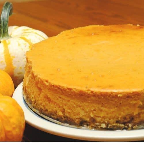 Gluten-Free Pumpkin Cheesecake