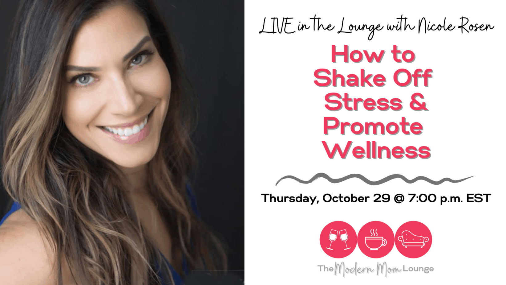 How to Shake off Stress and Promote Wellness with Nicole Rosen