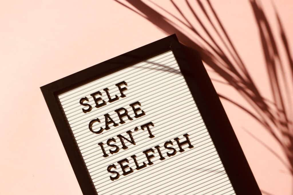 speed self care checklist