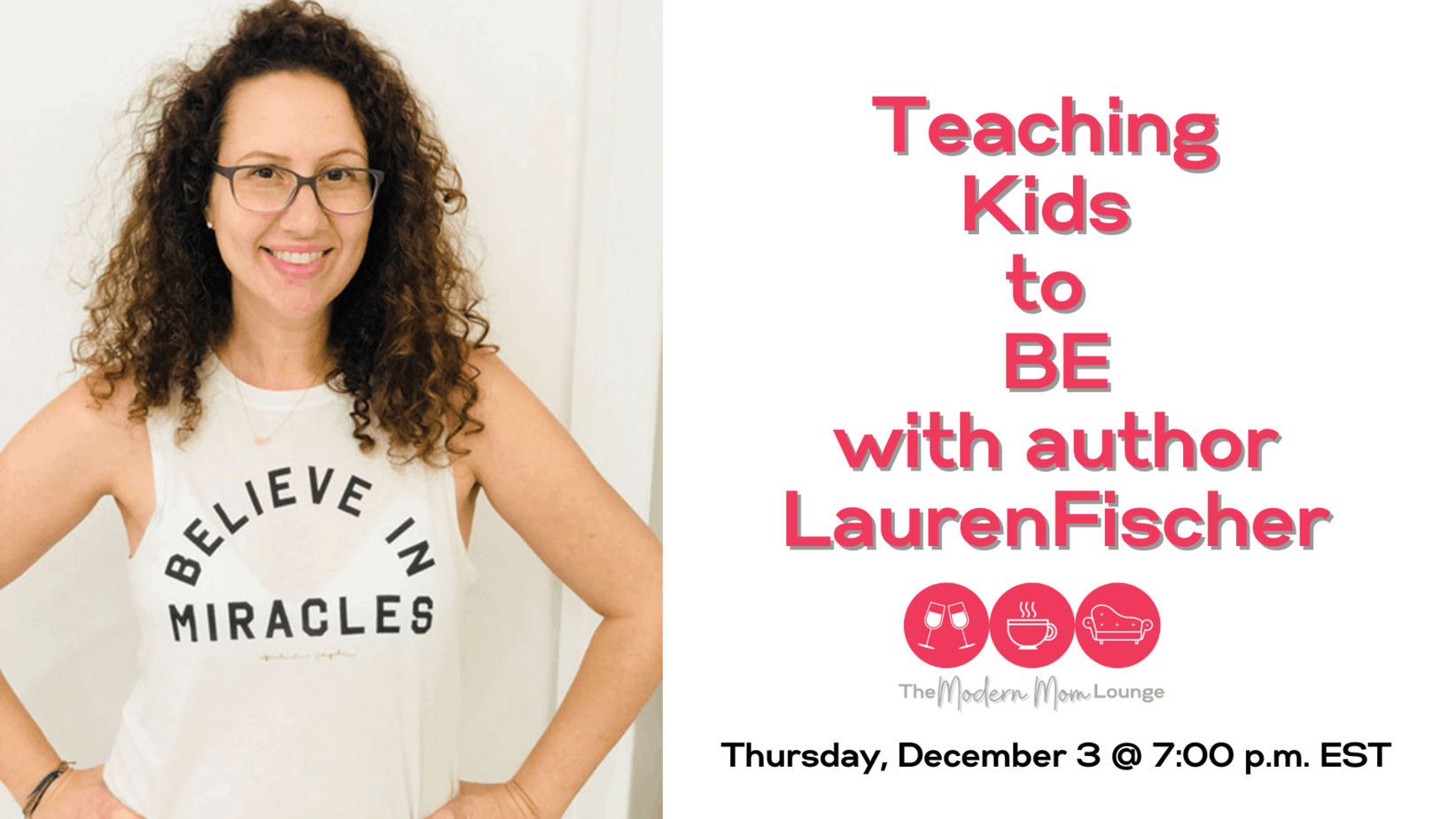 teaching kids to be with lauren fischer