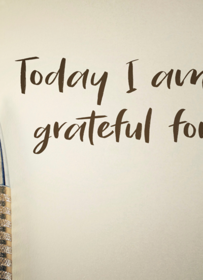 Helpful Tips for Writing Gratitude