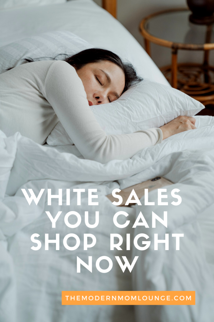 White Sales You Can Shop Right Now