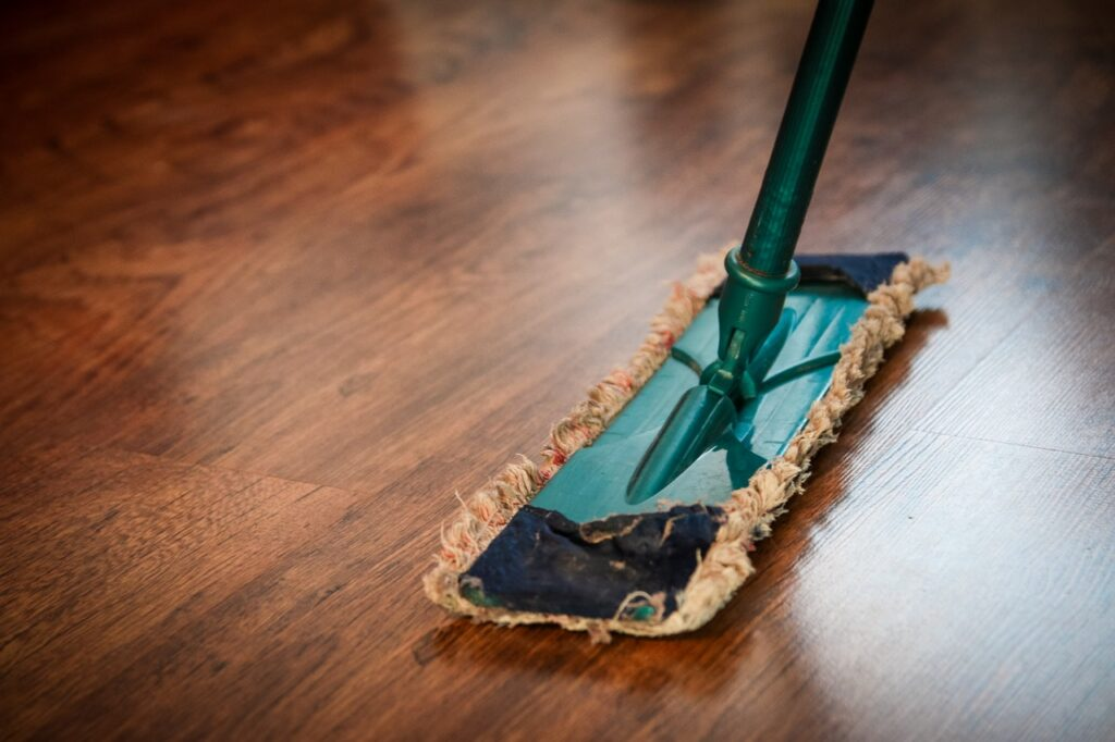 tips to keep a clean house